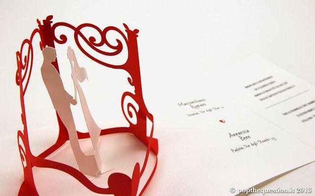 Partecipazioni Matrimonio 3d.Design 3d Per Le Partecipazioni Di Nozze Casafacile
