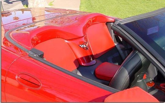 Body Color Interior Noise Isolator Cover For C5 Corvette Convertible Corvette Convertible Corvette Colorful Interiors