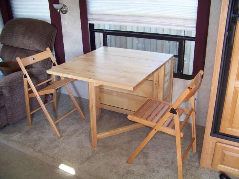 Dinette Replacement With Table And Chairs Dinette Camping