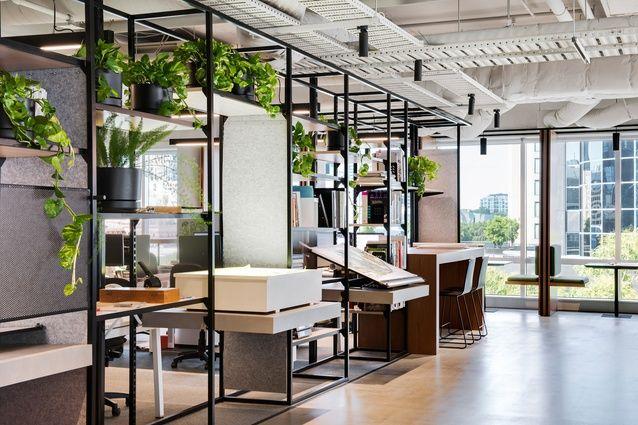 2018 aida shortlist workplace design office interior - David jones head office australia ...
