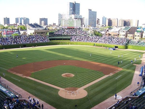 Wrigley field, Chicago, Ill Cubs bleacher bums unite, to Kirby
