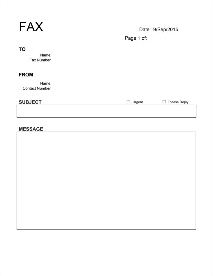 20 Free Fax Cover Templates Sheets In Microsoft Office Docx Cover Sheet Template Fax Cover Sheet Cover Letter Template Free downloads fax cover sheet