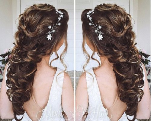 Wedding Hair Tumblr Cute Hair Styles In 2019 Hair Styles Prom