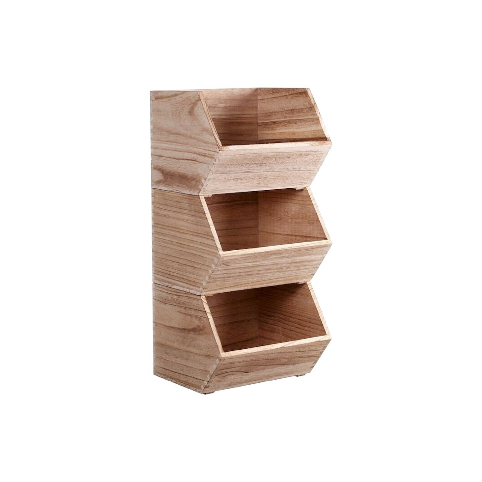 Stackable Wood Bin Small - Pillowfort™  sc 1 st  Pinterest & Pillowfort Stackable Wood Bin Small | Wood bin Stackable bins and ...
