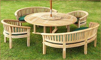 garden furniture wood google search