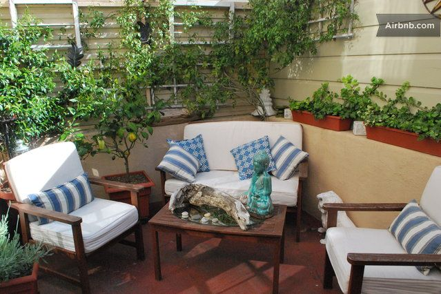 Marina studio apartment with patio  in San Francisco from $115 per night