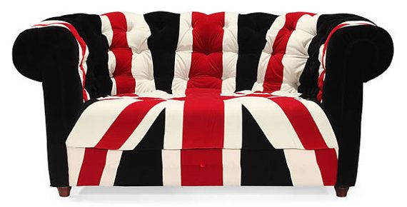 Hey, I found this really awesome Etsy listing at https://www.etsy.com/listing/196536233/sale-union-jack-loveseat