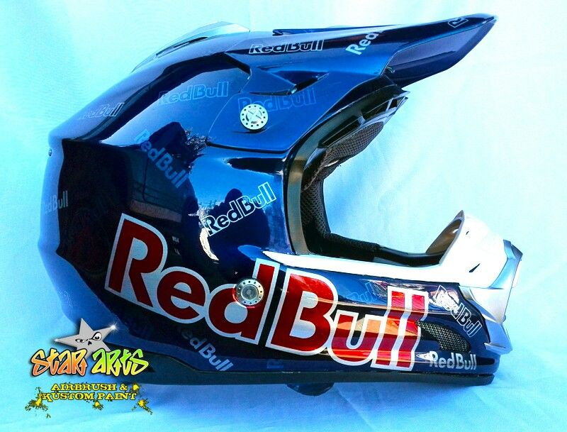 Painted With Candy Colors Redbull Tld Capacete