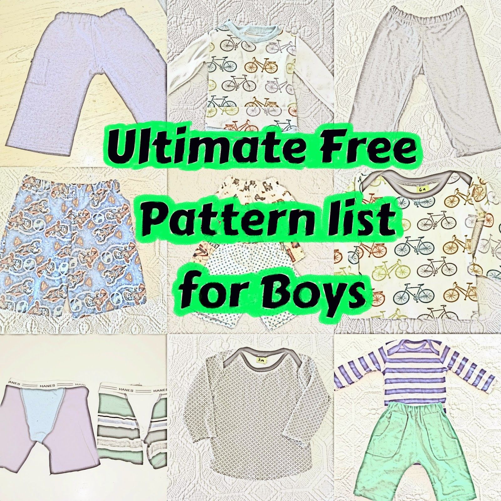 Free Boy Patterns