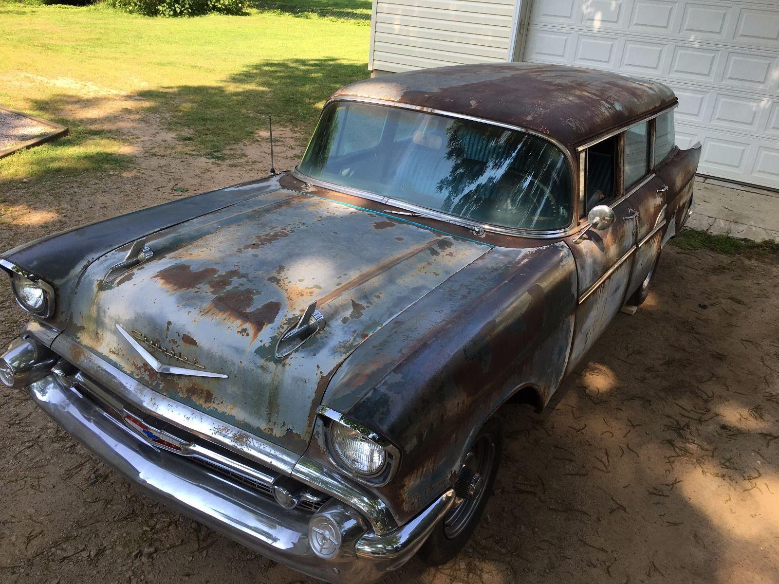 medium resolution of chevrolet bel air 150 210 1957 chevy 210 4 door wagon check more