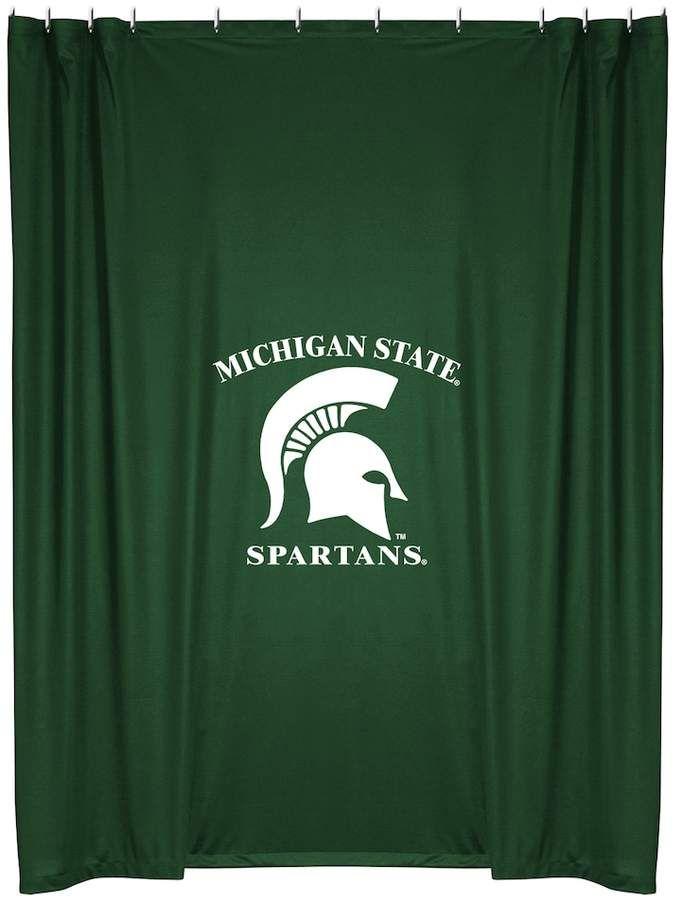 Kohls Michigan State Spartans Shower Curtain