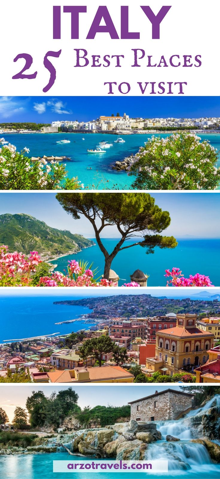 25 best places to visit in italy amazing places for Best places to see in italy