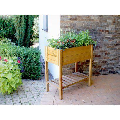 Hochbeet 79 Cm X 79 Cm X 39 Cm Eichefarben Kaufen Bei Obi Hochbeet Gemuse Anpflanzen Obi Hochbeet
