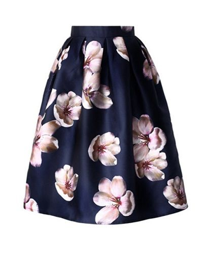 Blooms Midi Skirt