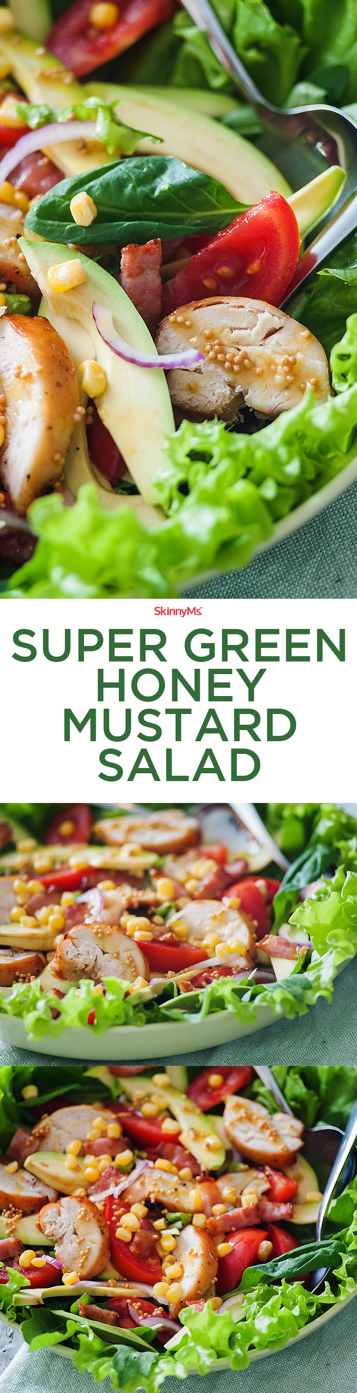 Super Green Honey Mustard Salad