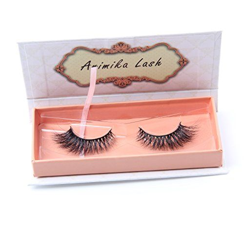 2f4928e4009 Arimika Handmade Natural 3D Authentic Mink False Eyelashes For Makeup 1  Pair Pack * Click image to review more details.