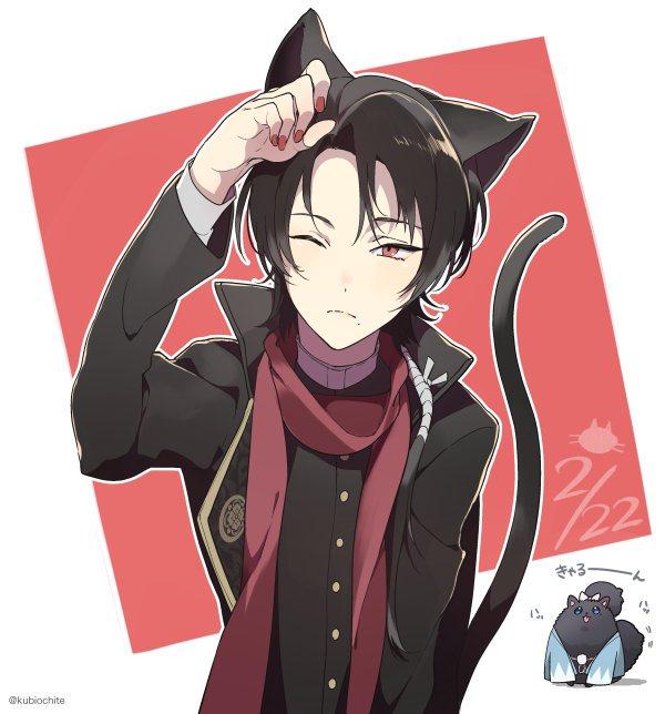 Kashuu Kiyomitsu Anime cat boy, Anime neko, Neko boy