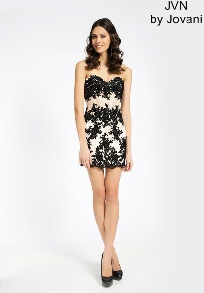 2014 JVN by Jovani Lace Homecoming Dress JVN99963 | Homecoming ...