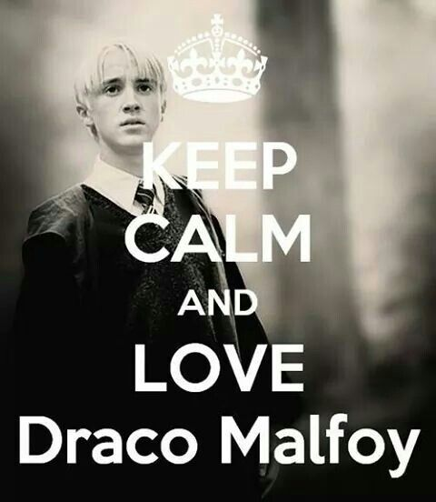 Keep Calm And Love Draco Malfoy Draco Malfoy Harry Potter Characters Malfoy