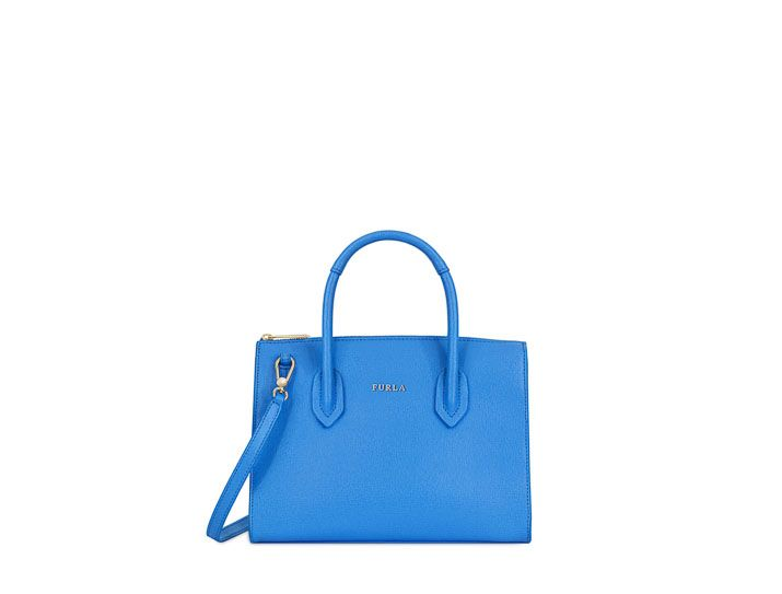 84958caad0 FURLA FURLA PIN SATCHEL S CELESTE C.  furla  bags  shoulder bags  hand bags   leather  satchel  lace