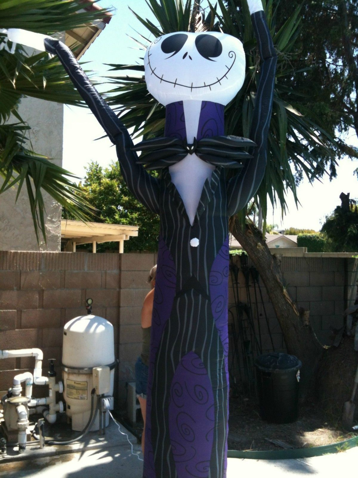 Nightmare Before Christmas 10 FT Airblown Inflatable Jack ...