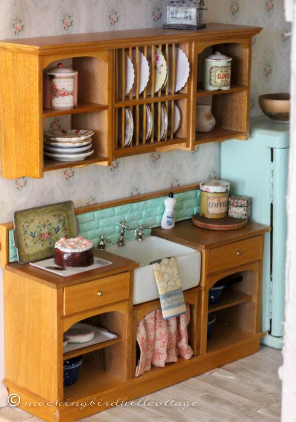 who what where dollhouse kitchen everything you need to know about where i found everything and how i did it - Dollhouse Kitchen