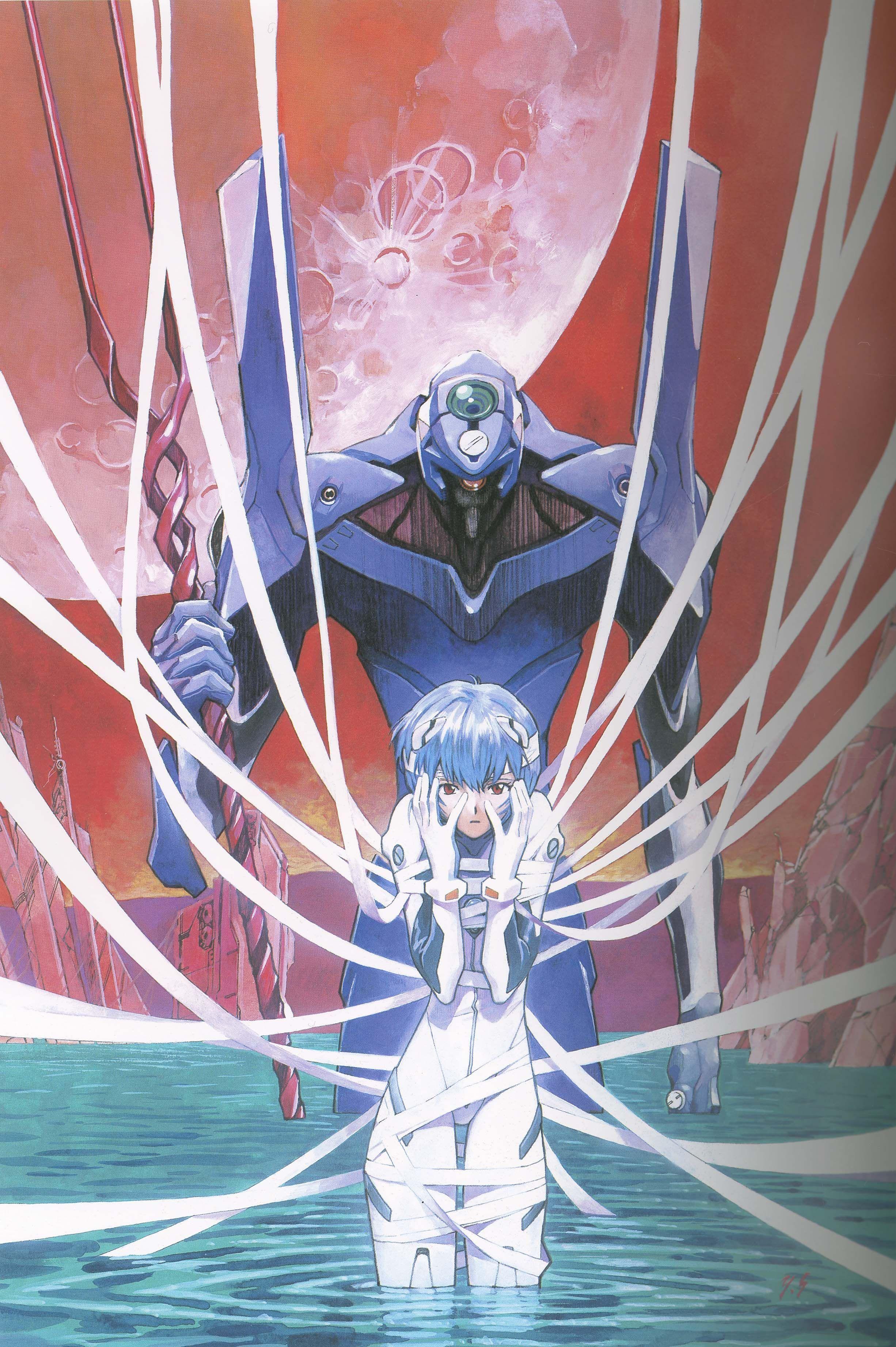 Ayanami Rei 439196 Fullsize Image 2452x3686 Zerochan Evangelion Art Evangelion Neon Genesis Evangelion
