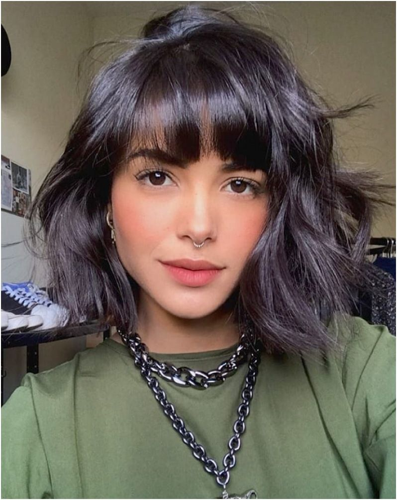 18+ Latest Curtain Bangs Short Haircut Inspo To Follow in 1821 ...