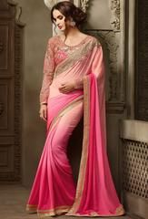 Serene Shaded Pink Saree  https://www.ethanica.com/products/serene-shaded-pink-saree-3
