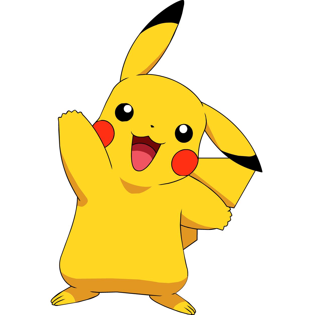 Poka C Mon Soft Polyester Fiber Fill Kids Pikachu Pillow Pikachu Pikachu Drawing Pokemon Fabric