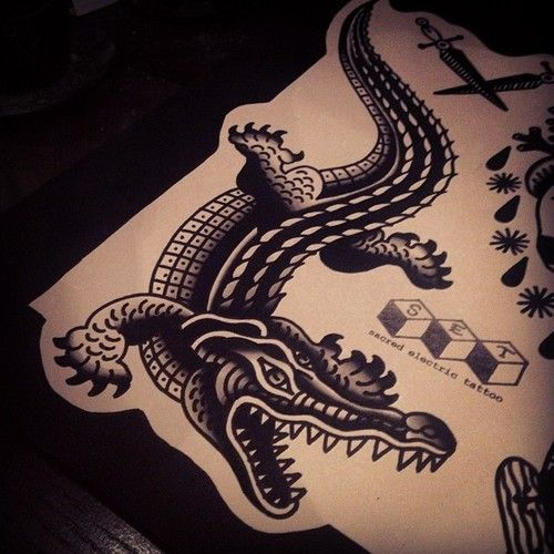 pin by colin o shaughnessy tucker on tattoos alligators