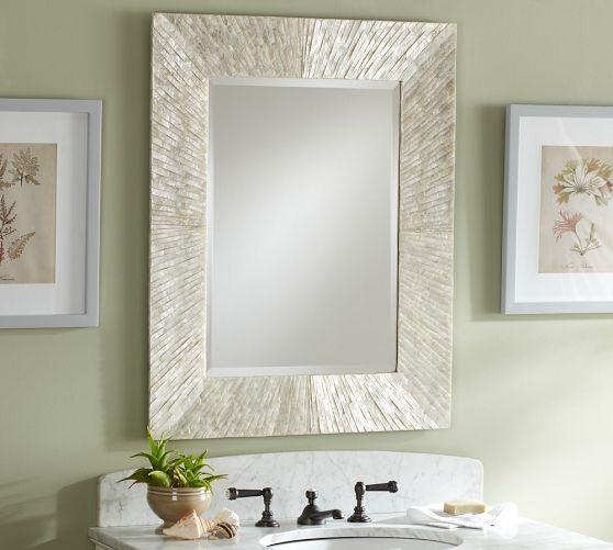 Miranda Capiz Fixed Mirror Mirror Amazing Bathrooms