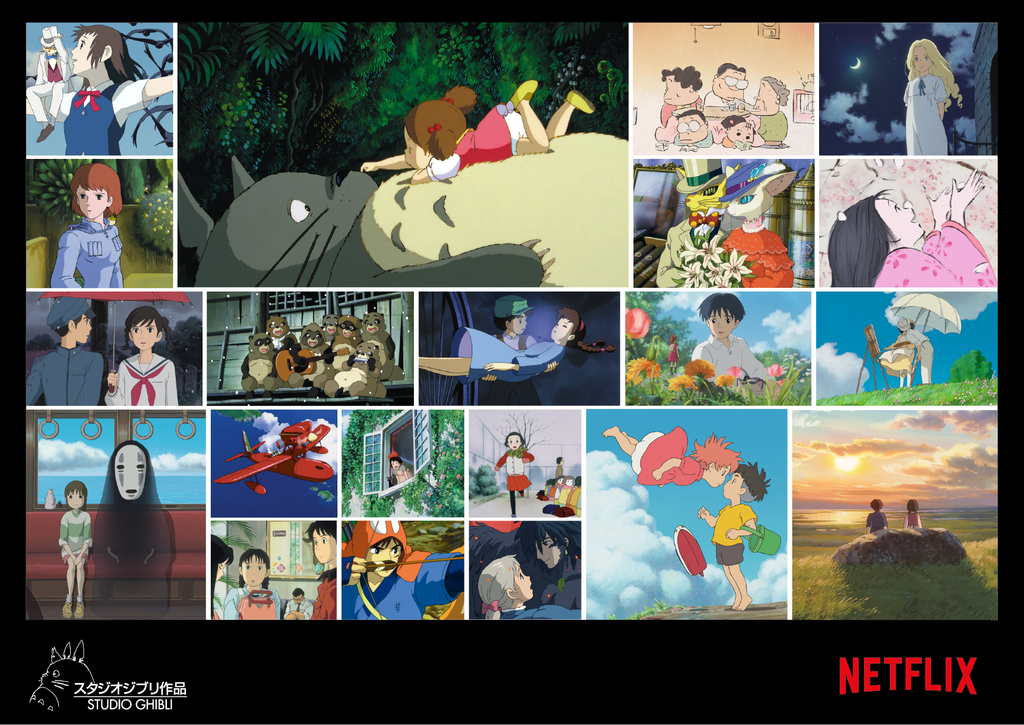 Netflix To Add 21 Animated Films From Japan's Legendary