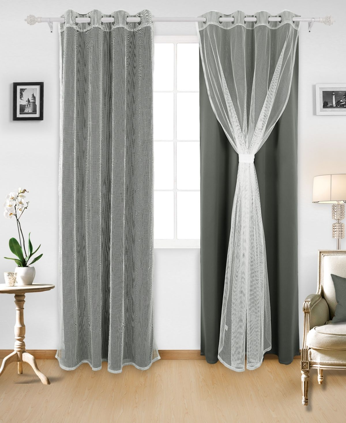 Deconovo Grommet Mix And Match Thermal Insulated Blackout Curtains Reviews Window Treatments Blinds Macy S In 2020 Thermal Insulated Blackout Curtains Insulated Blackout Curtains Curtains