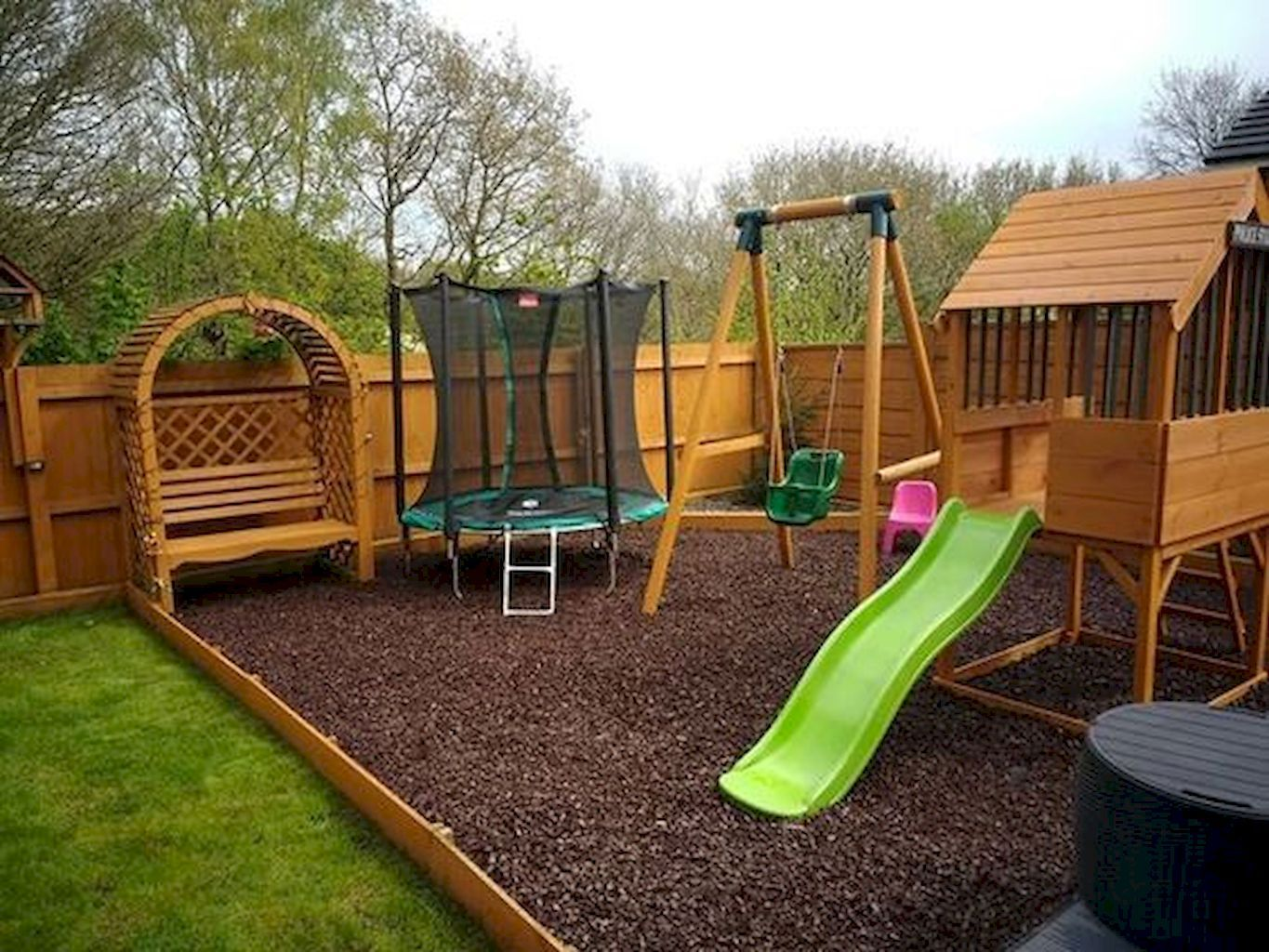 70 Spectacular Kids Garden Ideas With Outdoor Play Areas Kids
