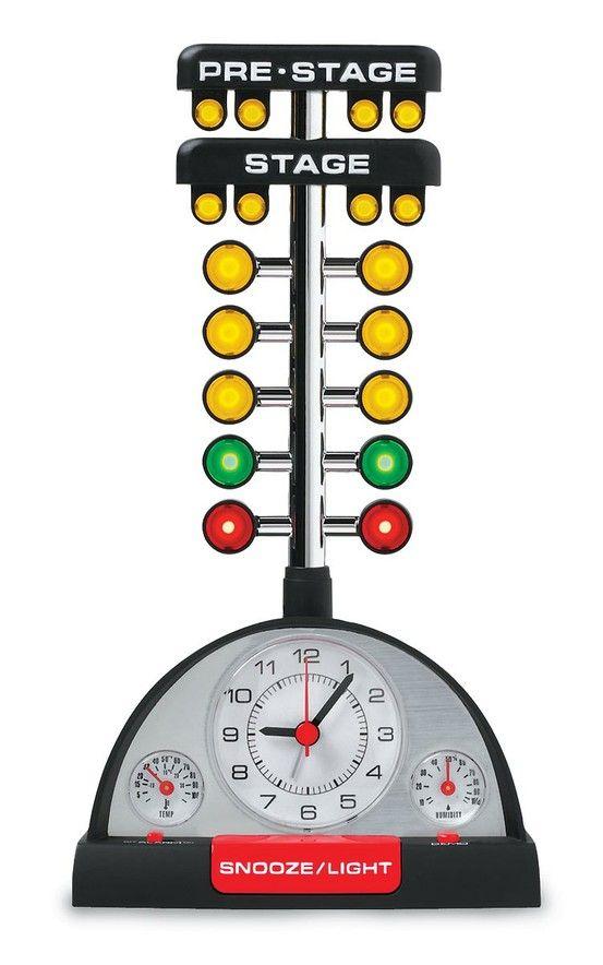 Hot Rod Gifts Clothing Memorabilia At Summit Racing Drag Racing Alarm Clock Clock
