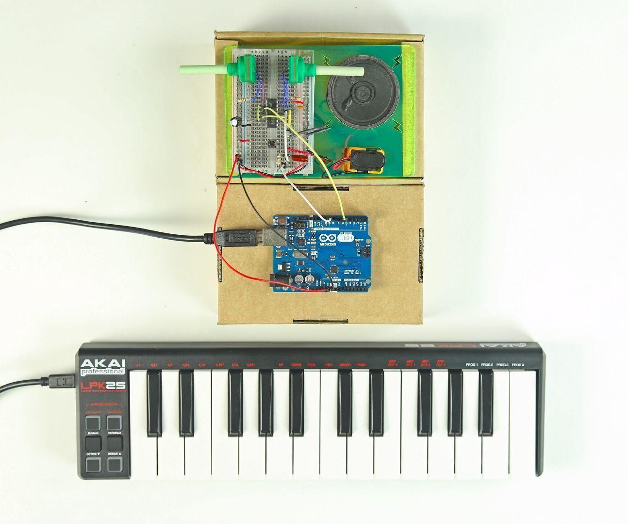 DIY Synth + MIDI Controller | Unleash Your Inner Rockstar | Midi