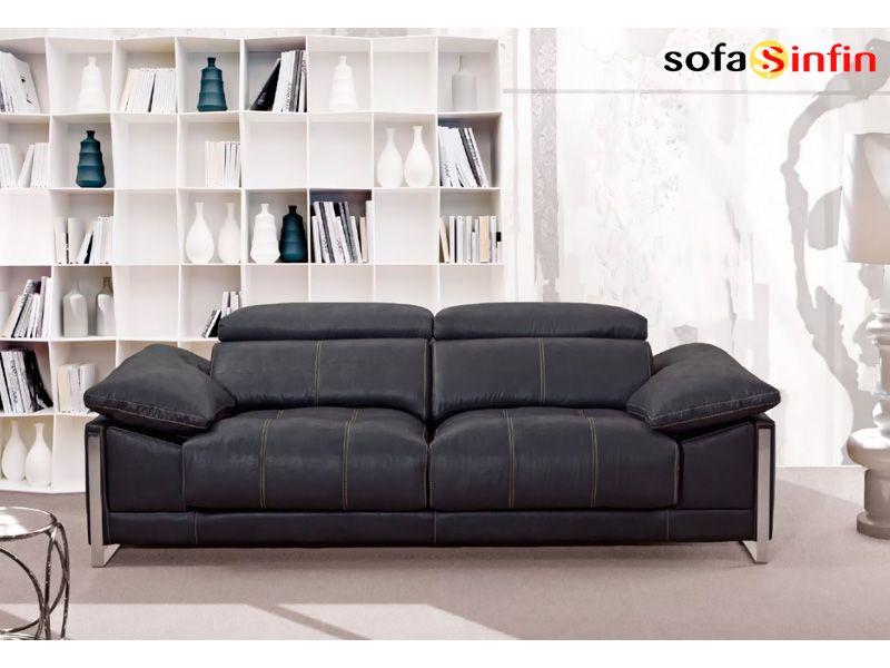 Sof moderno de 3 y 2 plazas modelo brandon fabricado por - Sofas alta gama ...