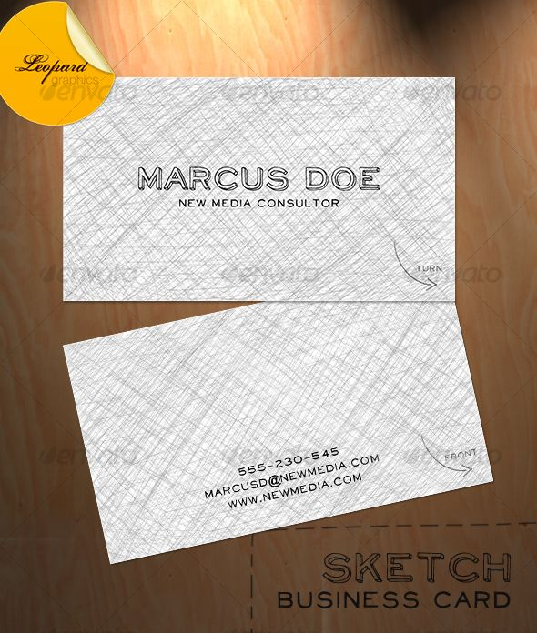 sketch business card fonts logos icons pinterest business