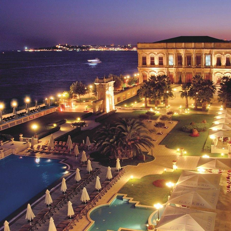 The Ciragan Palace Kempinski Hotel In Istanbul Turkey Istanbul Hotels Hotels In Istanbul Turkey Dream Hotels