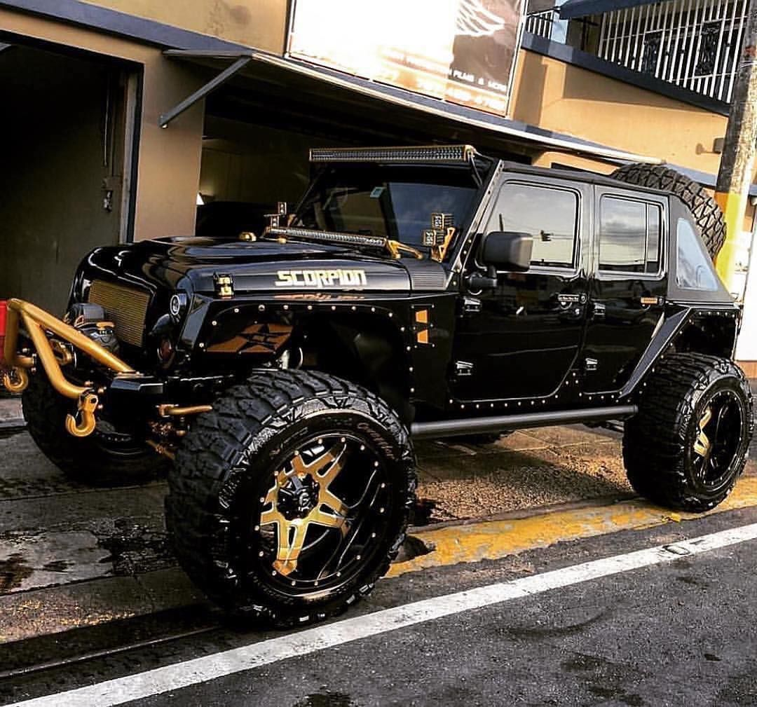 Does It Go Off Road Though Thoughts Follow Us Jeepkeeps Jeep Suv Custom Jeep Jeep