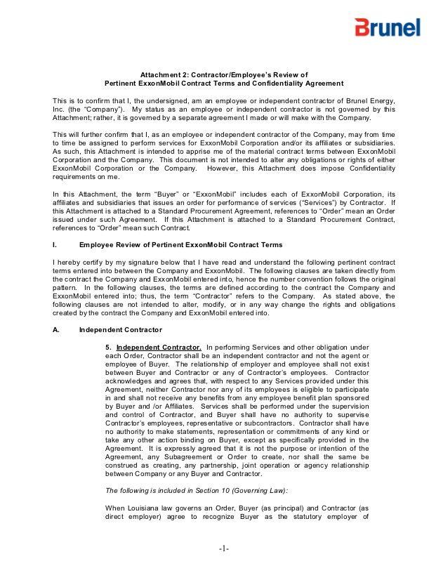 Vendor Application Form Exxon Google Search Non Disclosure