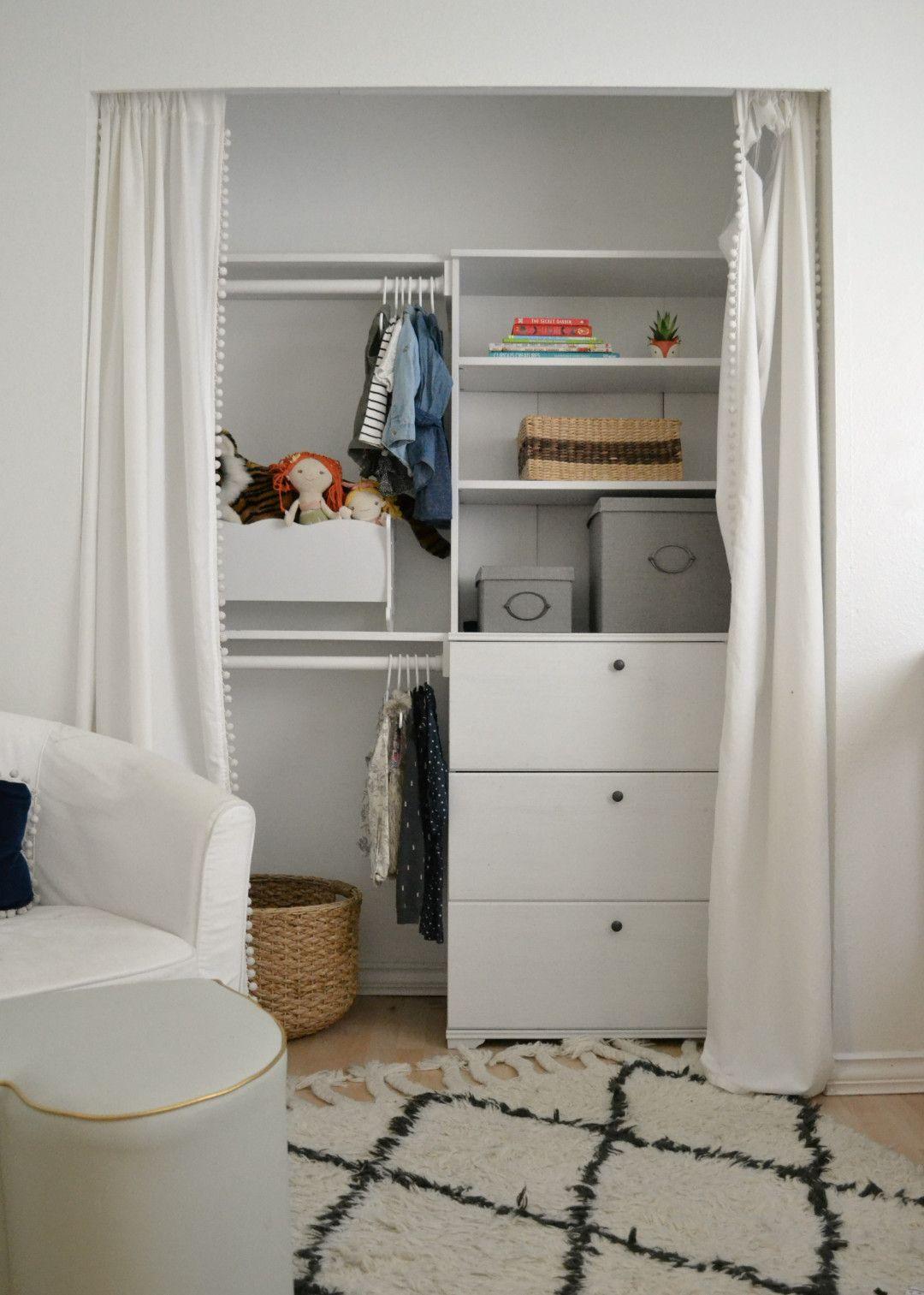 DIY Closet BuiltIn Diy closet, Home diy, Small closet