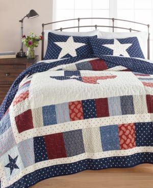 Comforter /& Pillow Sham Martha Stewart Twin Nautical Quilt 2 Available