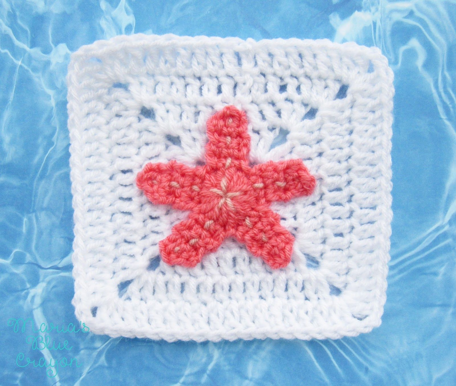 starfish.jpg (1600×1355) | crochet | Pinterest | Cobija, Tortugas y ...