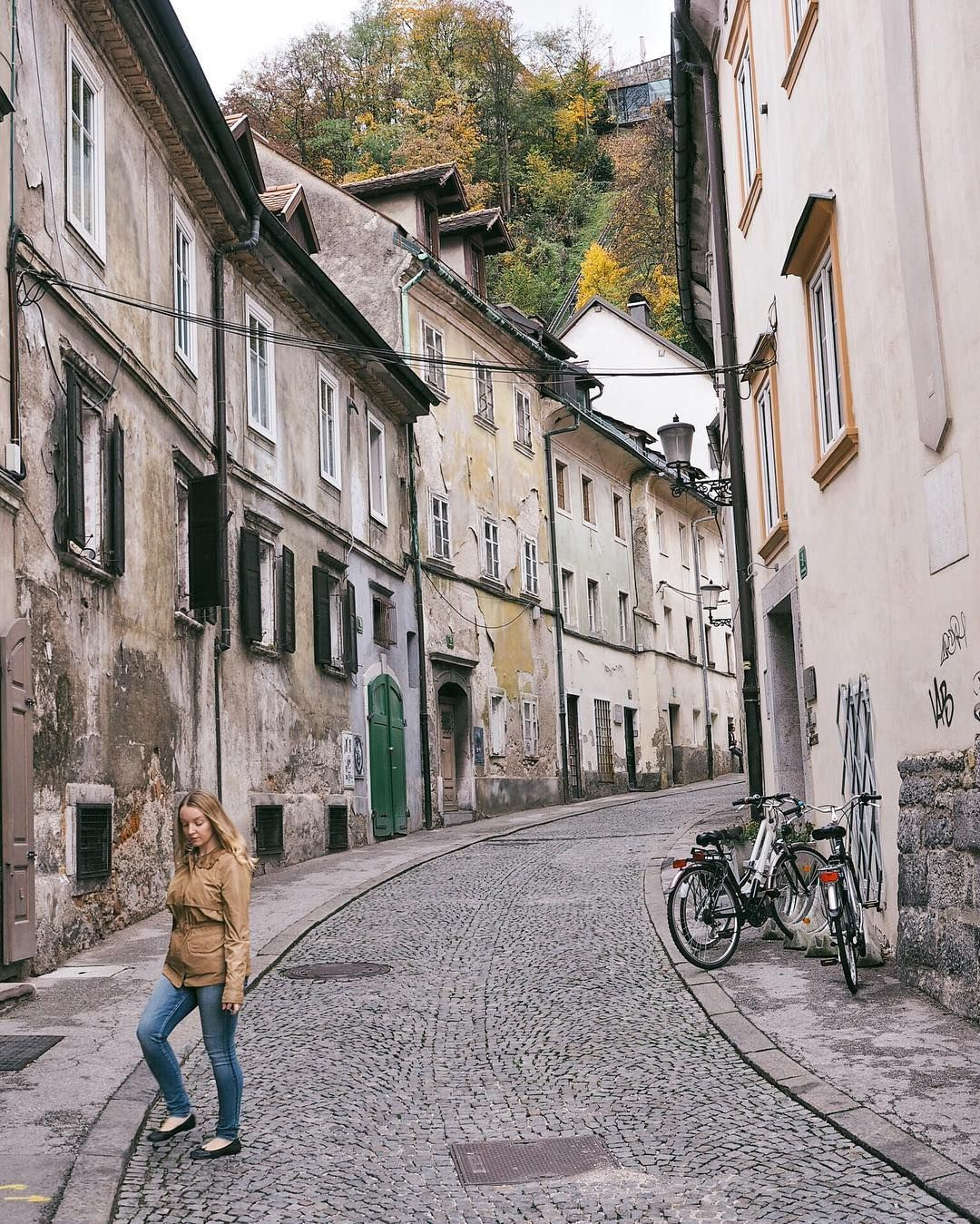 October Ljubljana Slovenia Next Was This Amazing Country And This Amazing City Some Of The Streets And Buildings Ljubljana Slovenia Travel Instagram