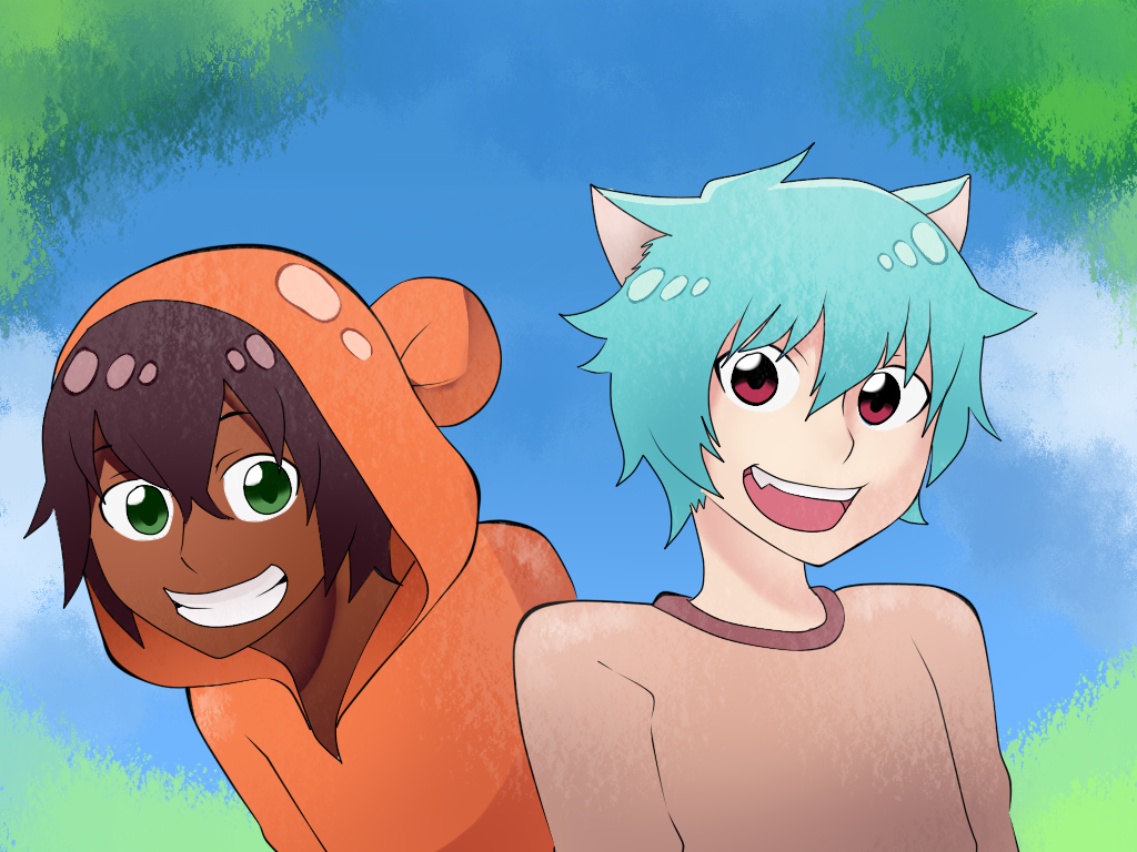 gumball_and_darwin_anime_version_by_floatingmegane_san