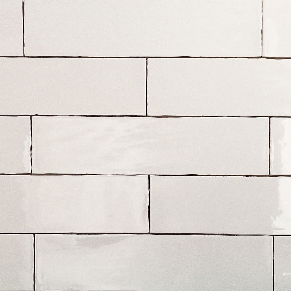 3x12 Tile Lancaster Bianco Ceramic White Subway Tile Backsplash Kitchen Subway Tile Handmade Subway Tile