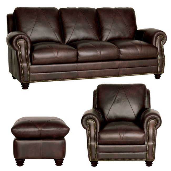 The Soloman Sofa Chair And Ottoman Leather Sofa And Loveseat Best Leather Sofa Sofa And Loveseat Set