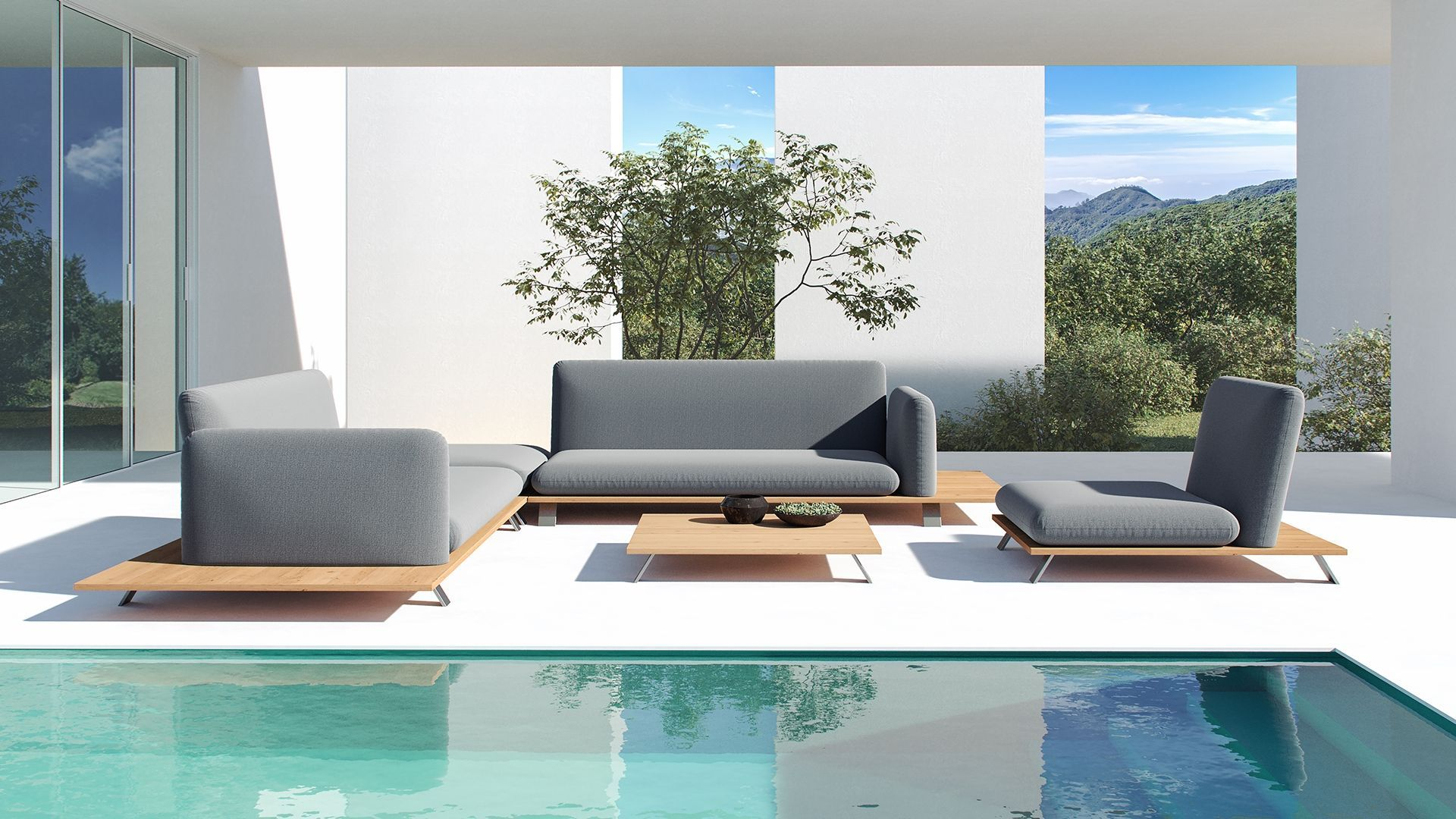 Gartenmöbel Lounge Ethna Lounge Sofa Garten Lounge Design
